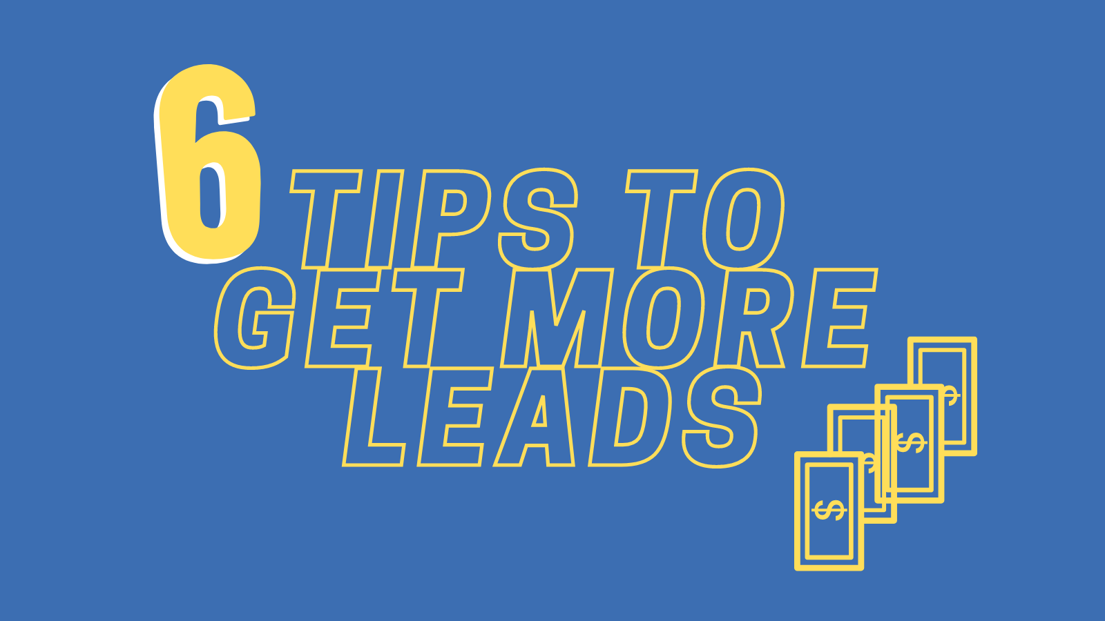 tips to get more website leads